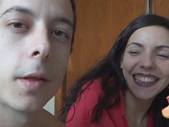 Rubi y Hugo su primer video porno