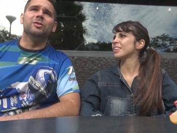 Miriam y Adrian, él fanatico del porno y ella, una liberal muy celosa